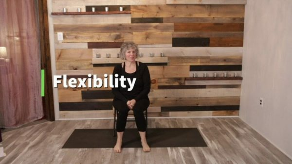 Yoga for Parkinson's senior therapy video